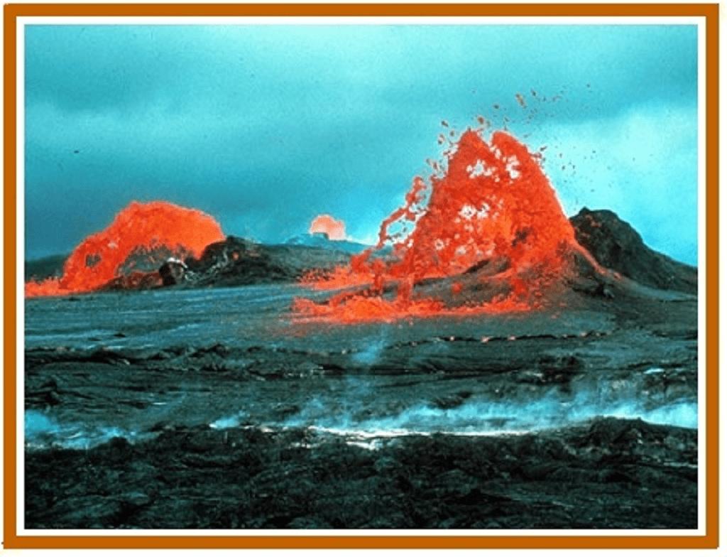 آتشفشان زیر اقیانوس