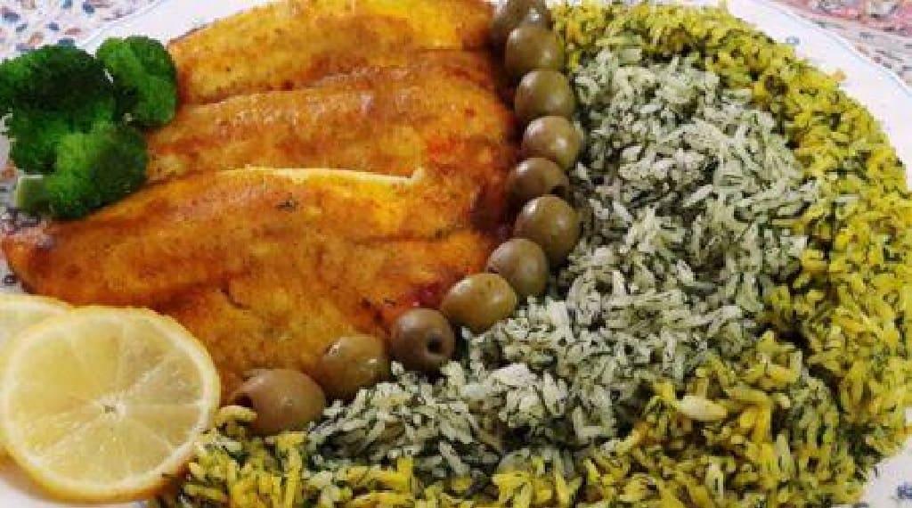 غذای بسیار متنوع و لذیذ با ماهی