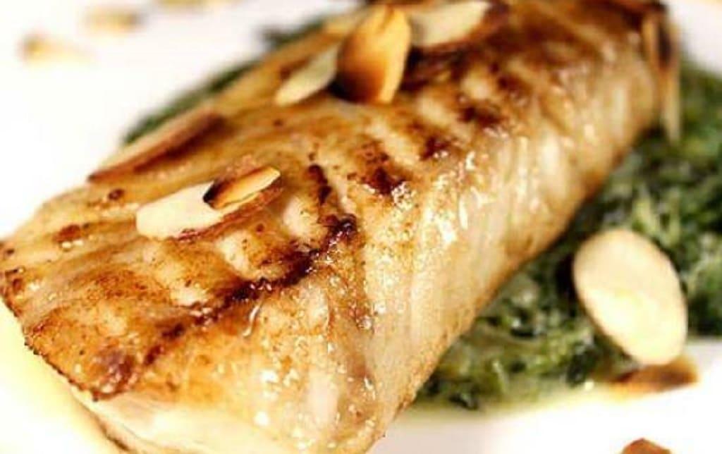 ماهی رژیمی با سبزیجات