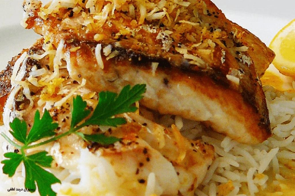 خورشت آلو و ماهی