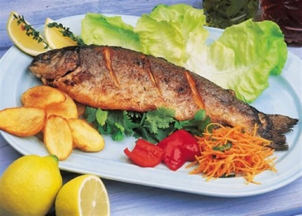 سرانه مصرف ماهی