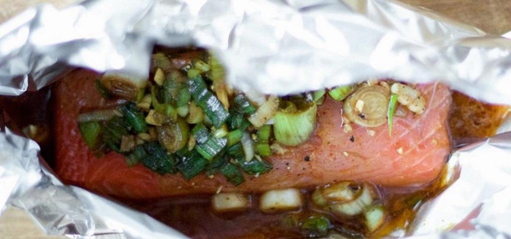 انواع غذا خوشمزه با ماهی