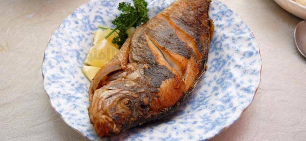 غذا های متنوع با ماهی