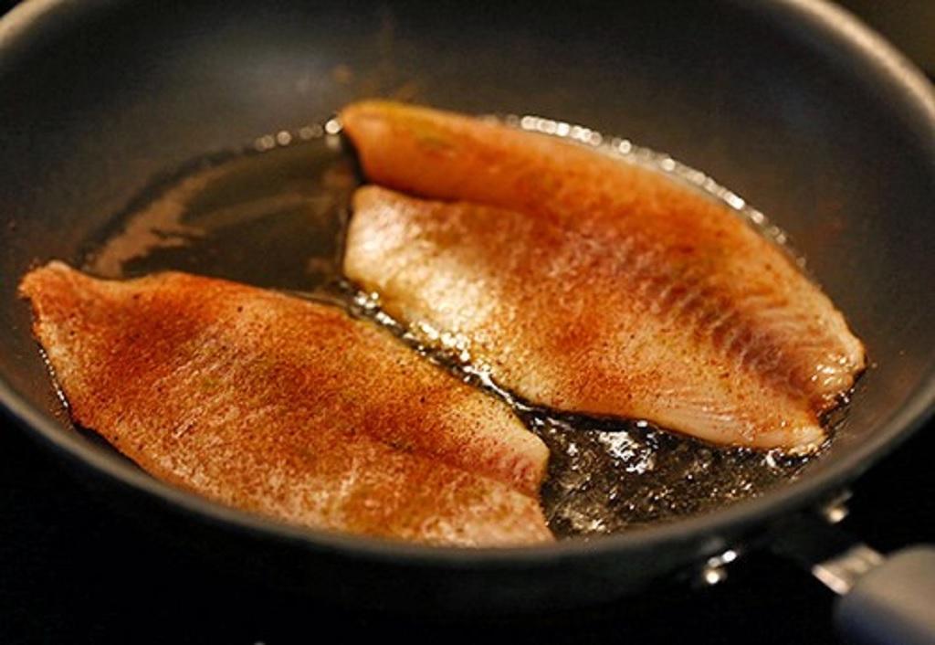 پخت ماهی با بهترین روغن