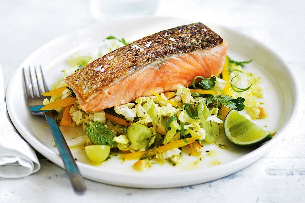 خواص ماهی سالمون برای مردان