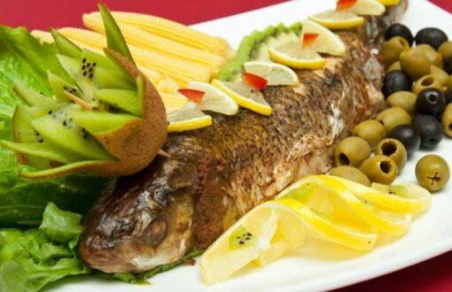 طرز تهیه ماهی سفید شکم پر