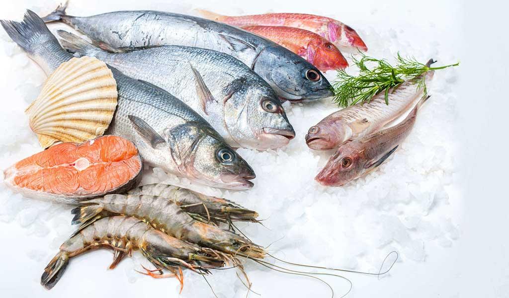 خرید آنلاین ماهی و میگو بسته بندی شده